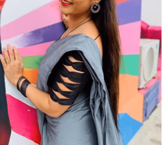 Stylish blouse sleeve designs 2