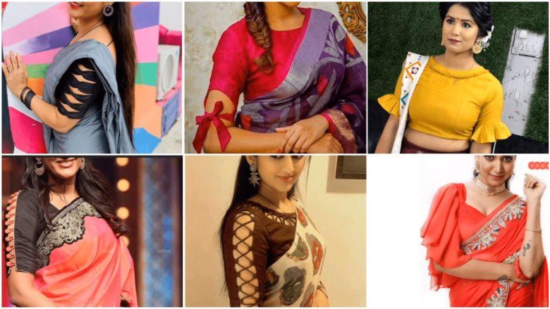 Stylish blouse sleeve designs