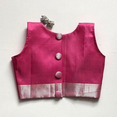 elegant silk saree blouse