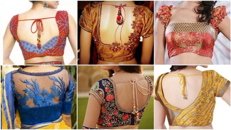 designer blouse designs for stylish look