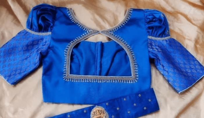 saree blouse design 10
