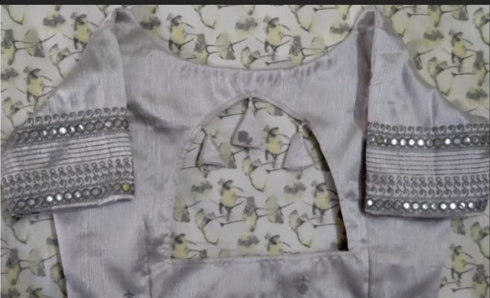 saree blouse design 13