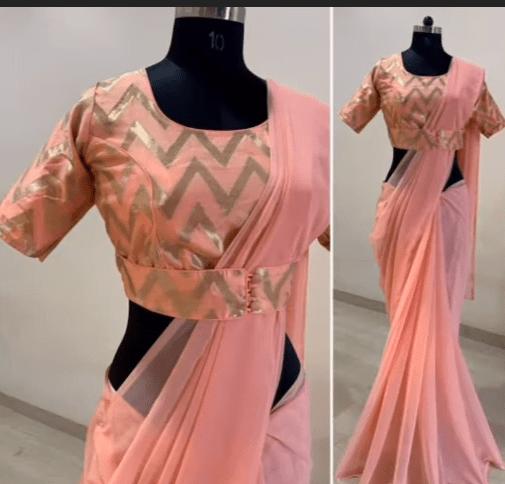 saree blouse design 15