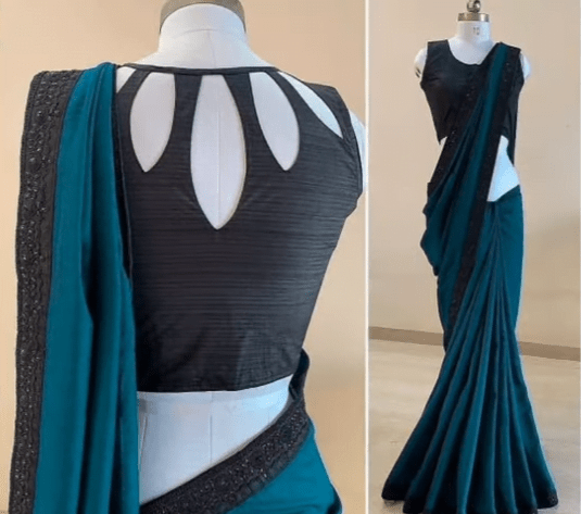 saree blouse design 9