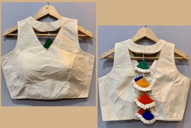 saree blouse design 5