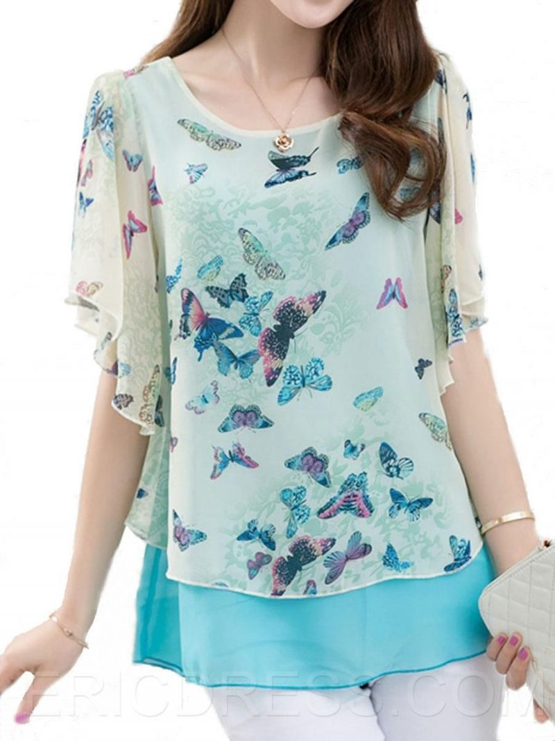 butterfly Beautiful and Stylish Kurtis for Jeans