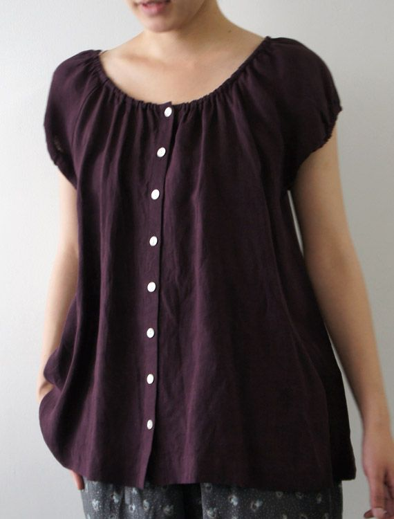 violet Beautiful and Stylish Kurtis for Jeans