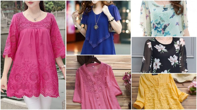 Beautiful and Stylish Kurtis for Jeans
