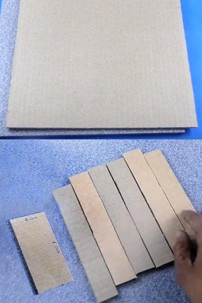 required cardboard sheet