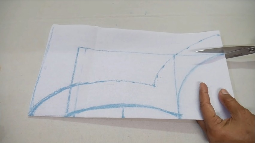 drawing the neck design