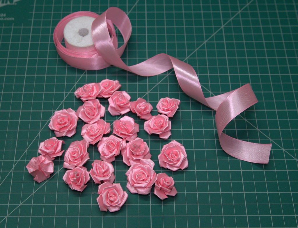 repeat the procedure to make flowers as much required