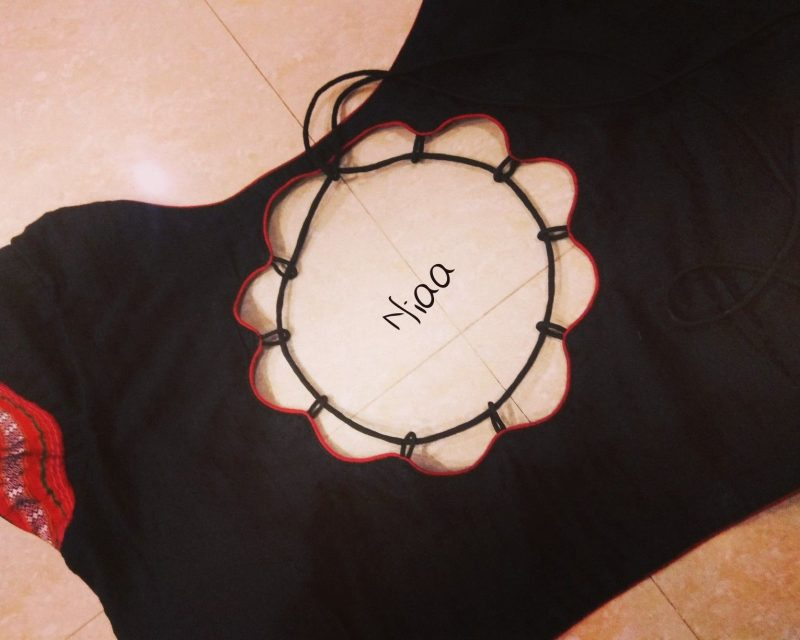 black blouse design