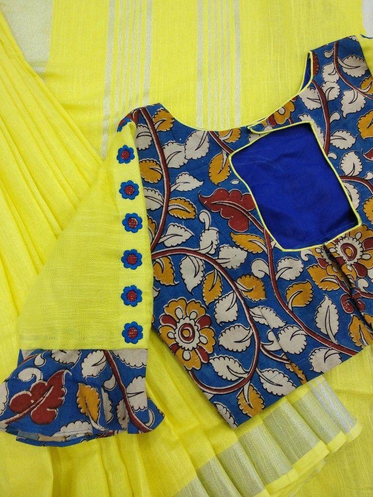 kalankari blouse design