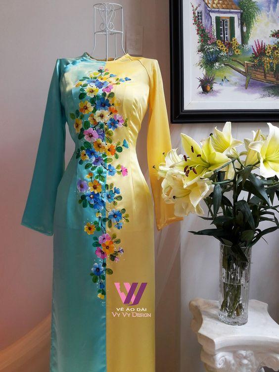floral printed kurti design