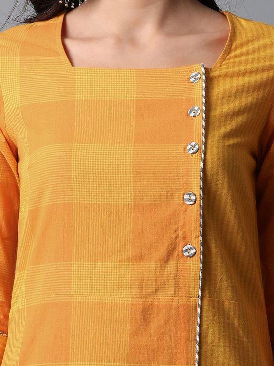 front button kurti design