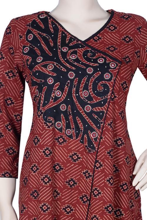 simple and stylish kurti design