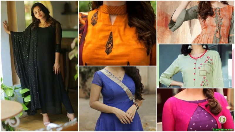 Different Types of Necklines to Try in Your Kurtis