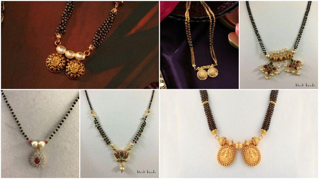 Elegant Black Beads Chain for Magalsuthra