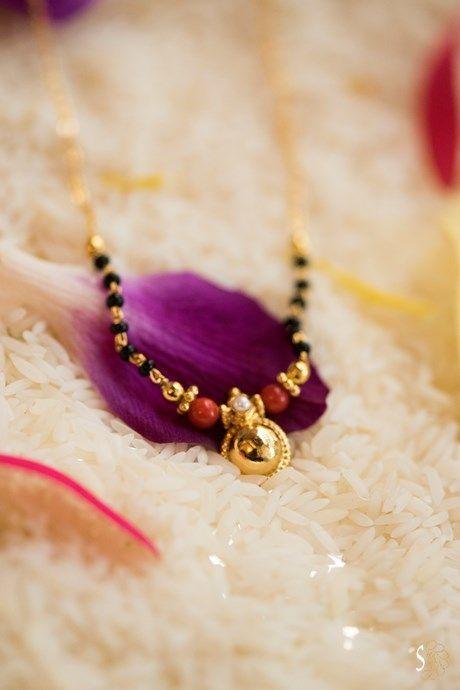 Elegant Black Beads Chain for Magalsuthra10