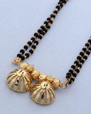 Elegant Black Beads Chain for Magalsuthra7