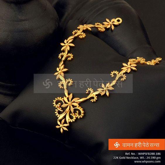 Elegant Gold Necklace13