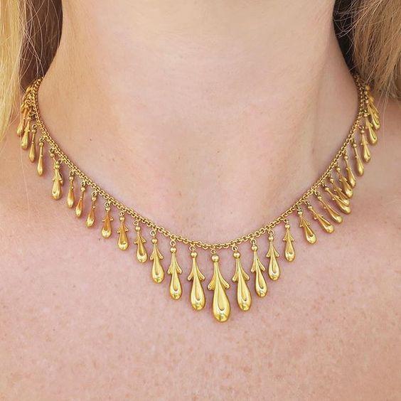 Elegant Gold Necklace14