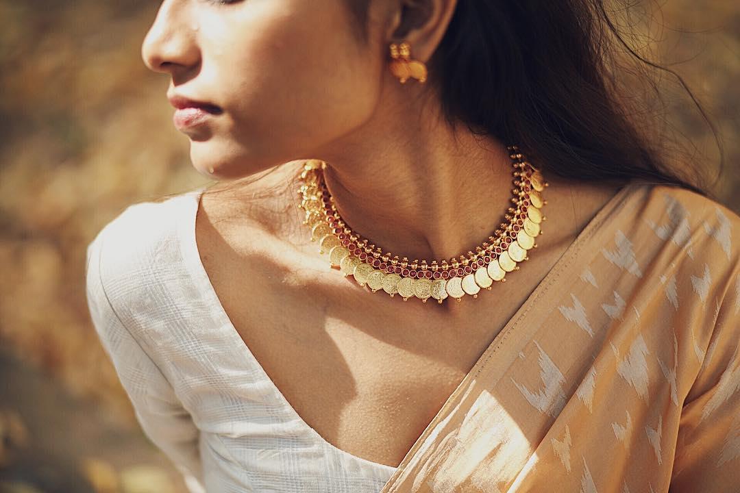 kasu mala necklace design