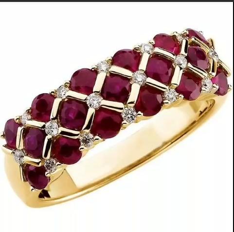 Gold Stone Bridal Bangle Designs1