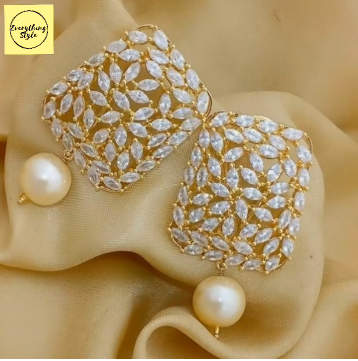 Gorgeous and Light Weight Gold Stud and Gold Earrings19