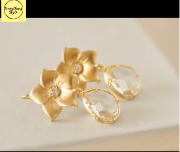 Gorgeous and Light Weight Gold Stud and Gold Earrings20