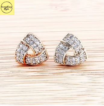 Gorgeous and Light Weight Gold Stud and Gold Earrings21