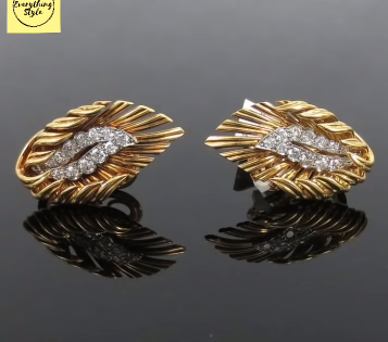 Gorgeous and Light Weight Gold Stud and Gold Earrings4