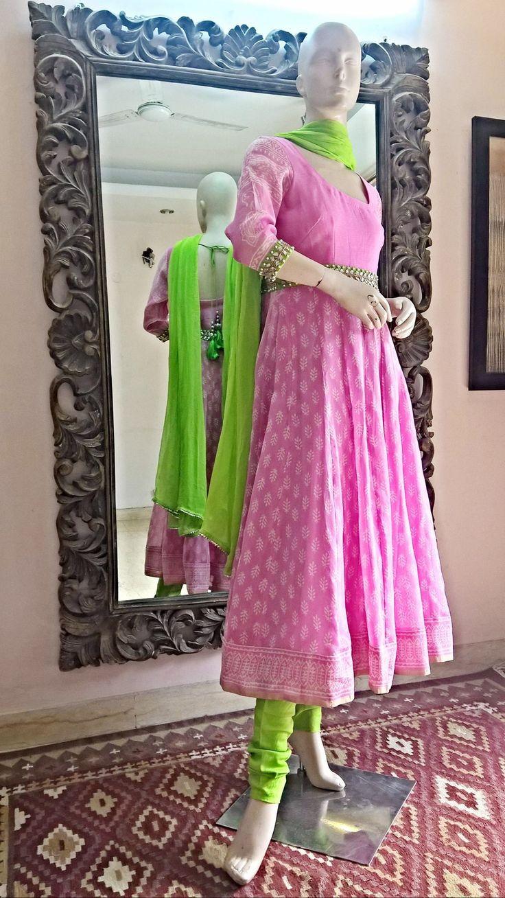 rose kurti design