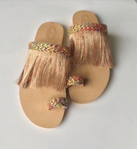Latest Boho Sandals with Pompom10