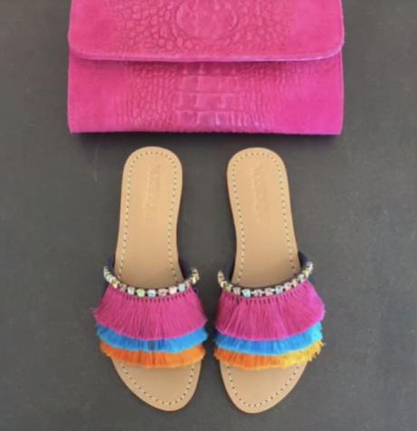 Latest Boho Sandals with Pompom21