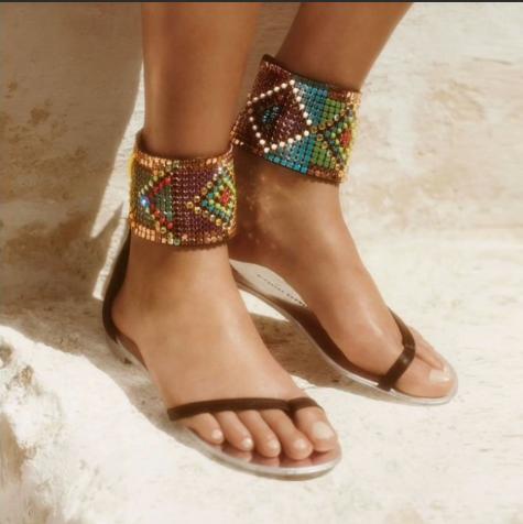 Latest Boho Sandals with Pompom26