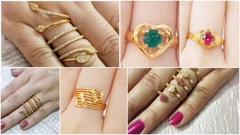 Latest Designer Finger Rings