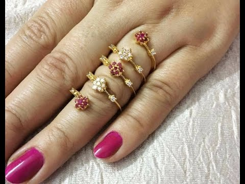 Latest Designer Finger Rings1