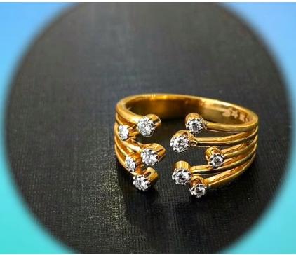 Latest Elegant Ring Design Collection for Women5