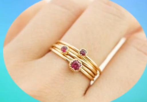 Latest Elegant Ring Design Collection for Women7
