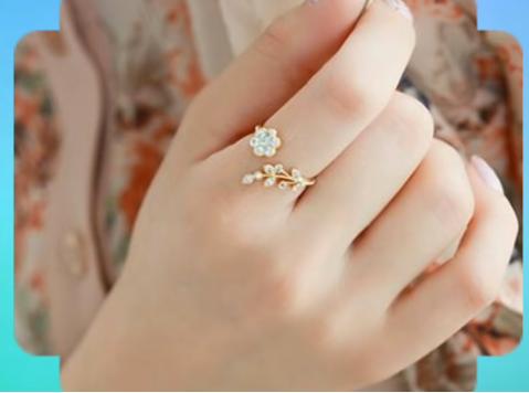 Latest Elegant Ring Design Collection for Women8
