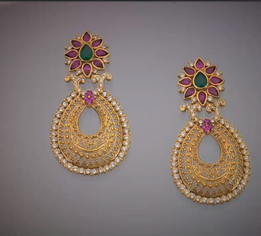 Latest Gold Earrings Designs11
