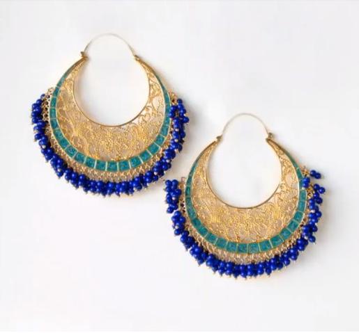 Latest Gold Earrings Designs14