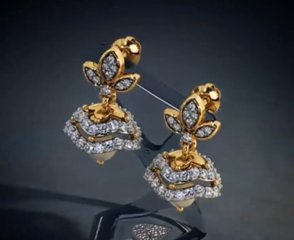 Latest Gold Earrings Designs16