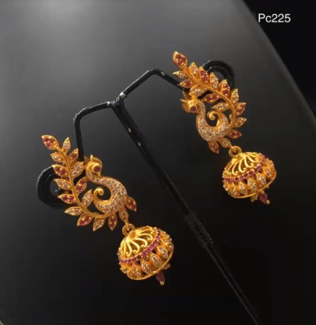 Latest Gold Earrings Designs18