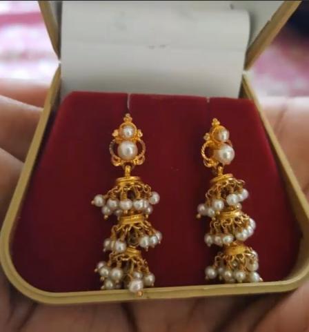 Latest Gold Earrings Designs5