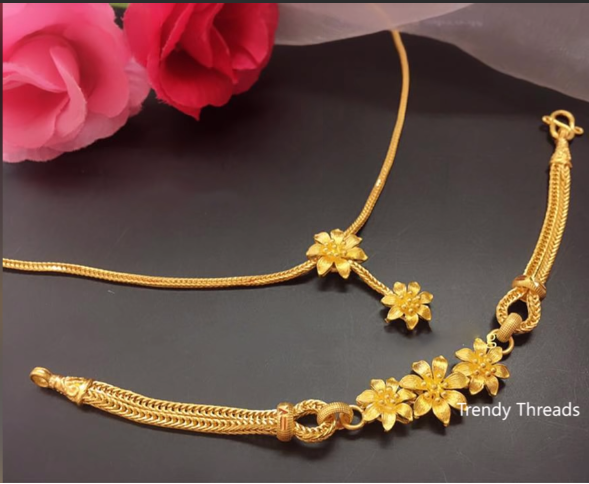 Latest Simple and Light Weight Gold Chain Designs5