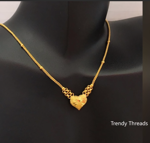 Latest Simple and Light Weight Gold Chain Designs6