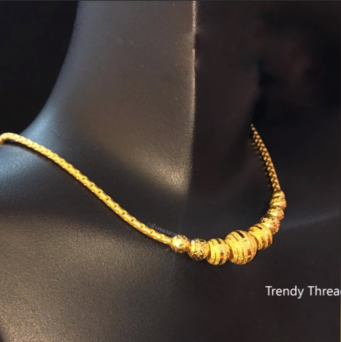 Latest Simple and Light Weight Gold Chain Designs8