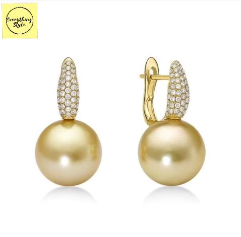 Classy Gold Hoop Earrings Designs1